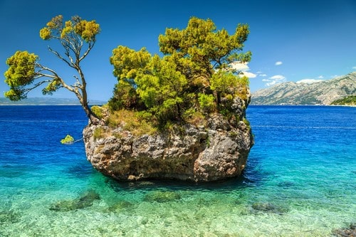 Brela, Makarska Riviera