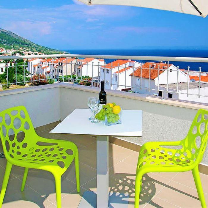 Balcony, Hotel Bol, Brac