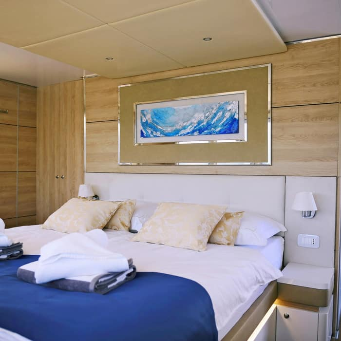 MV Riva, double cabin
