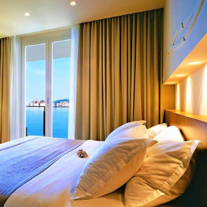 Villa Dubrovnik, Bedroom interior, Dubrovnik
