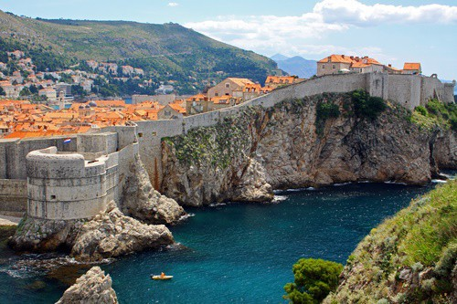 Dubrovnik old town walls, Croatia