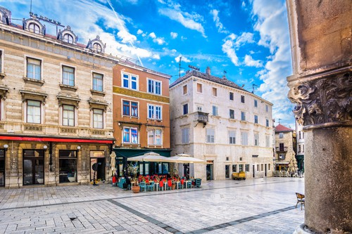Split square, Croatia
