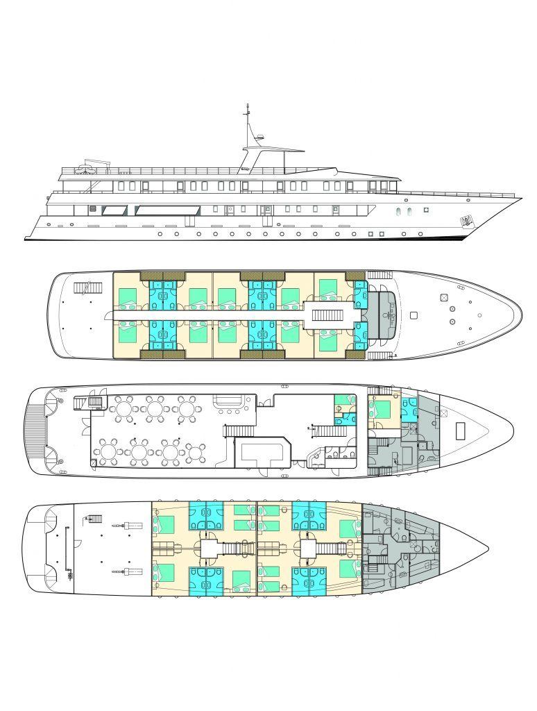 MS Adriatic Sun, deck plan