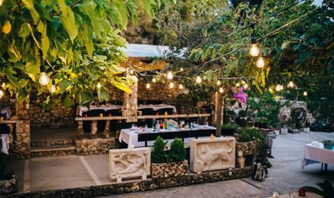 Restaurant Mali Raj, Brac