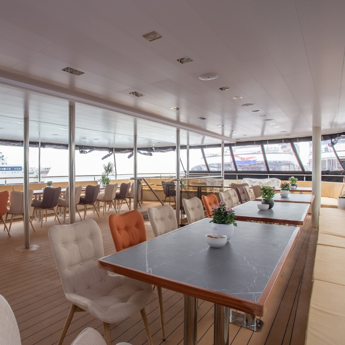 Sea Swallow outside dining area
