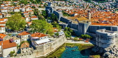 Dubrovnik fortress and town