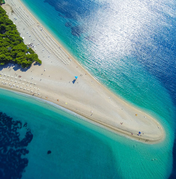 Zlatni Rat Beach, Brac, Croatia, Unforgettable Croatia