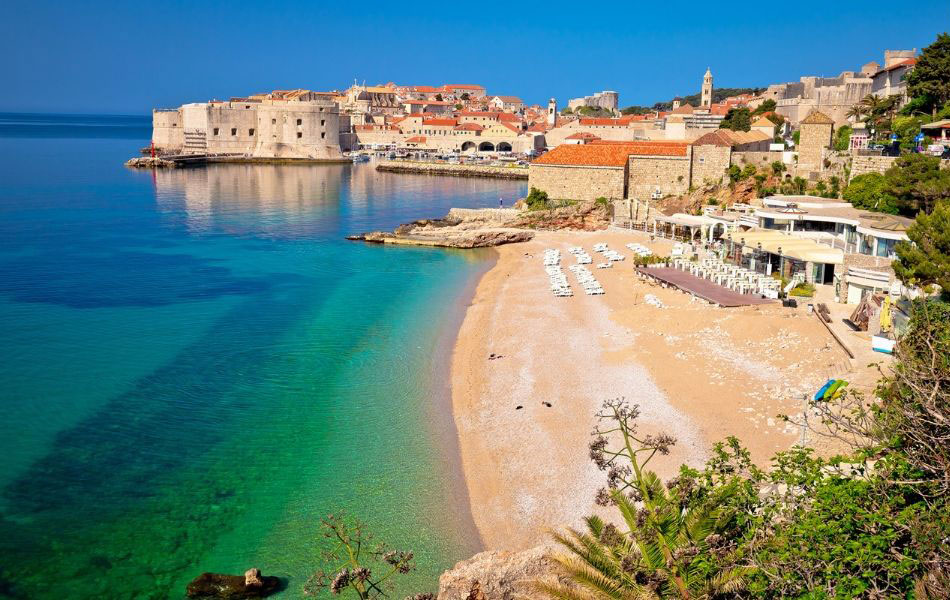 Banje Beach, Croatia, Dubrovnik, Unforgettable Croatia
