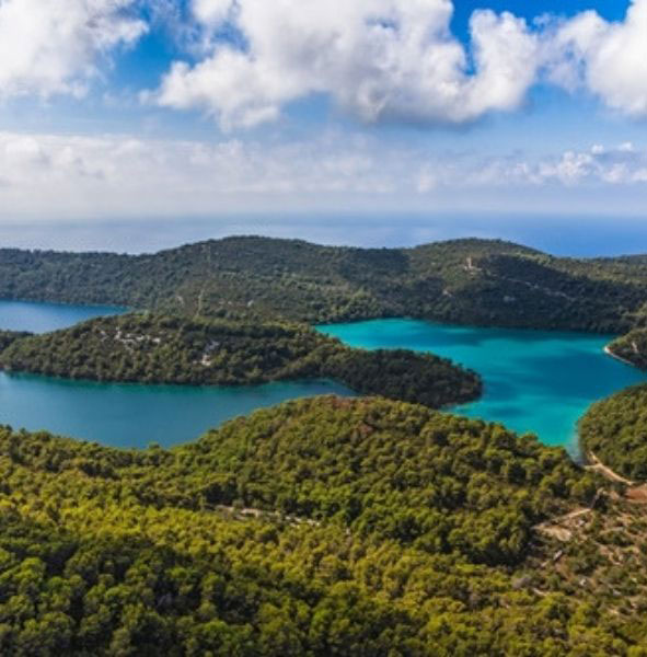 Croatia, Mljet National Park, Croatia