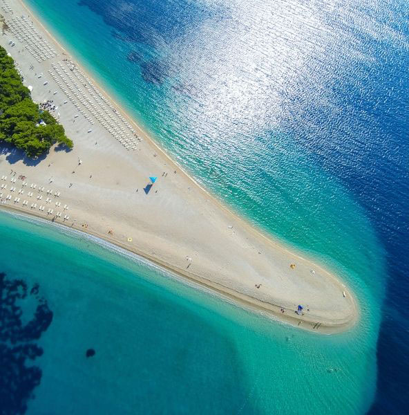 Unforgettable Croatia, Zlatni Rat beach, Brac Island, Croatia