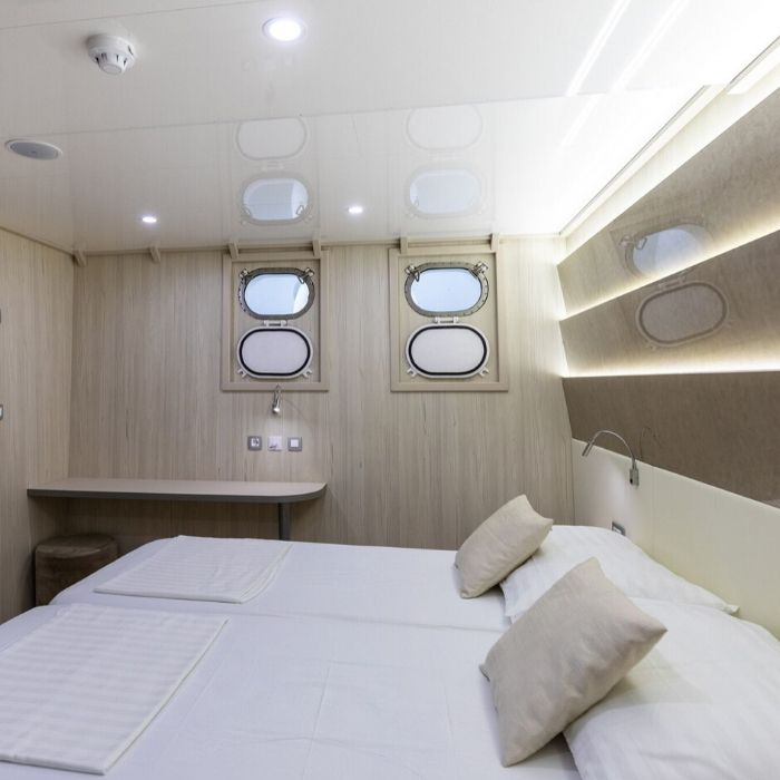 MS Cristal, double cabin