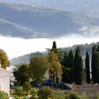 View from Motovun, Istria