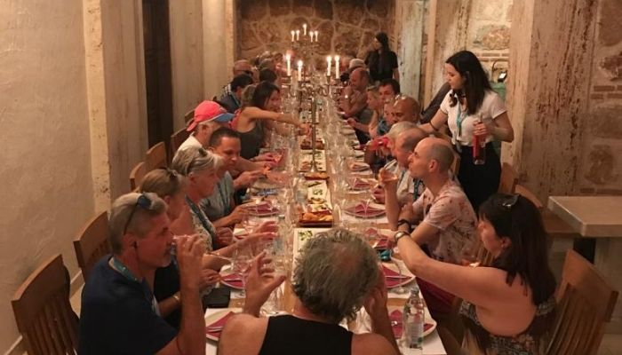 Croatia Cruise wine tasting