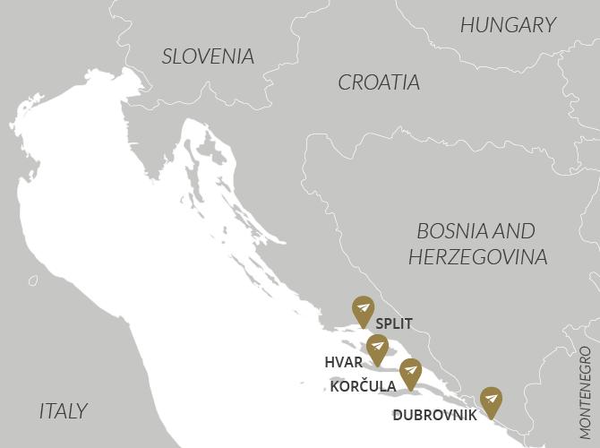 Croatia luxury island hopping