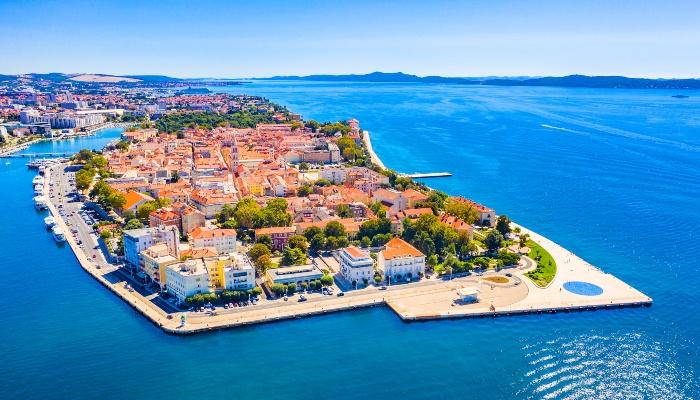 Zadar waterfront, Croatia