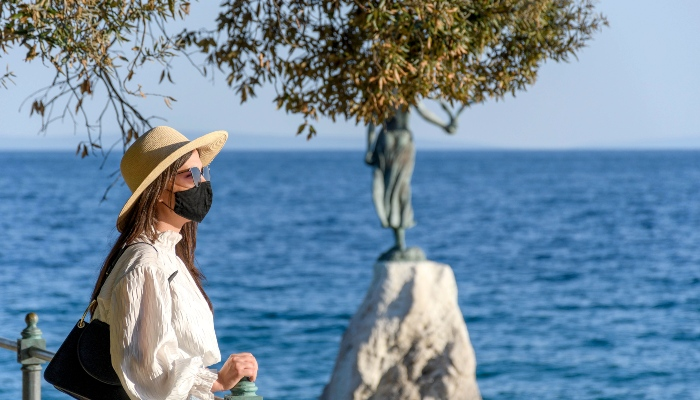 Covid safe traveler in Croatia
