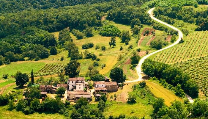 Village near Motovun
