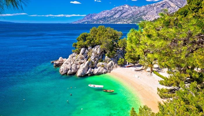 Punta Rata beach, Makarska