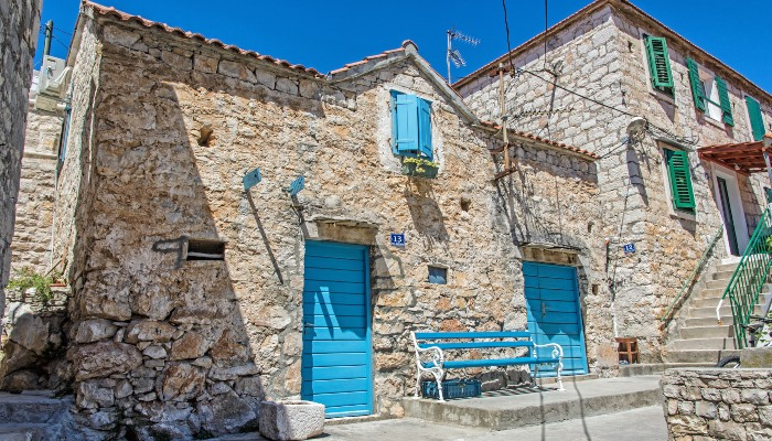 Village on Solta, Croatia
