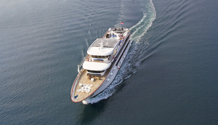 Adriatic sea luxury cruise